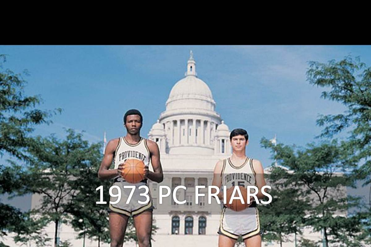 Champions: 1973 Providence College Friars