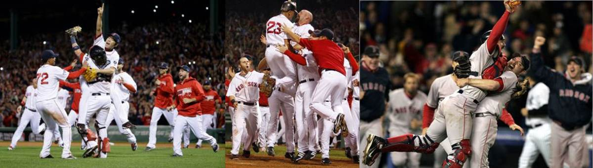 Red Sox Pennant Clinching Moments