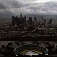21-April-1967: Dodger Stadium's First Rainout