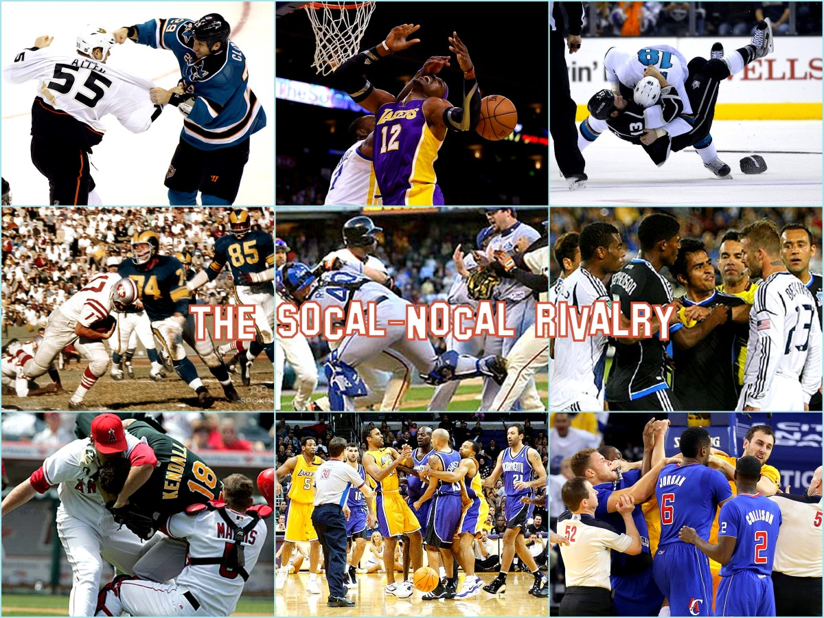 LA-NoCal's Best Sports Rivalries (#4, #5 and HM)