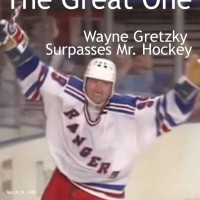 Mar-29-99: The Great One's Final Goal Surpasses Mr. Hockey