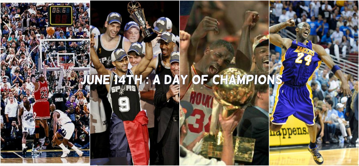 Jun-14: A Day of NBA Champions