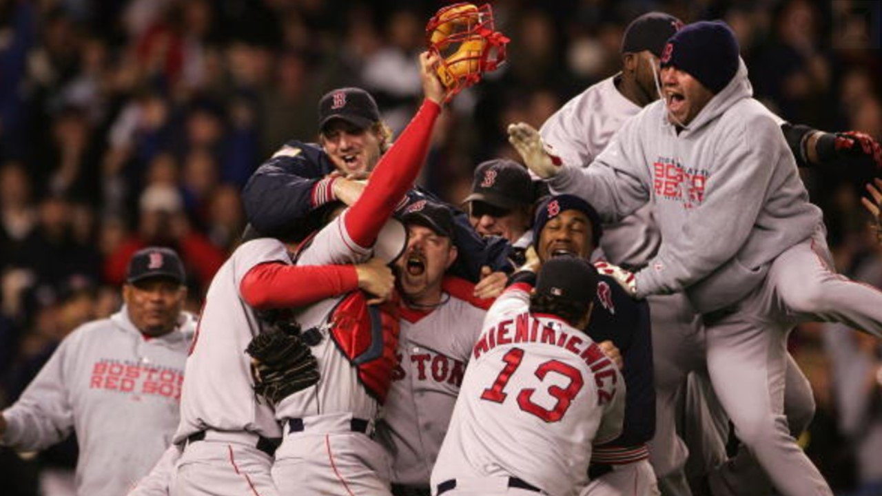 Oct-20-2004: The Red Sox Complete the Greatest Comeback in History