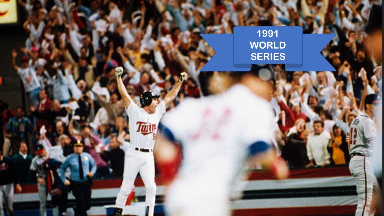 Oct-27-1991: Twins Win 10-Inning Game 7 Pitchers' Duel
