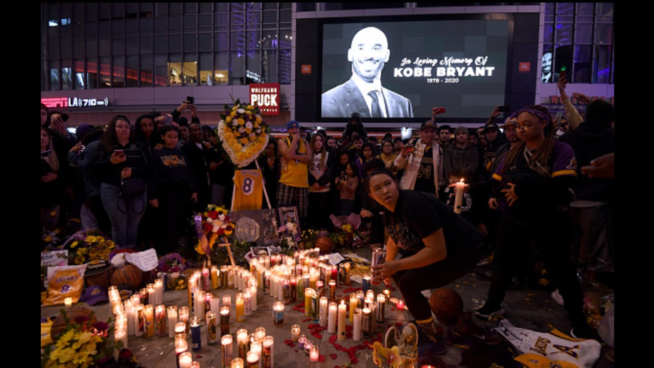 Jan-26-2020: Kobe Bryant and Daughter Killed in Helicopter Crash